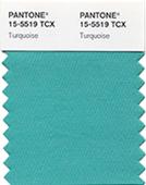 Pantone turquoise 2010
