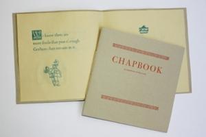 Letterpress III, Chapbook of false truths